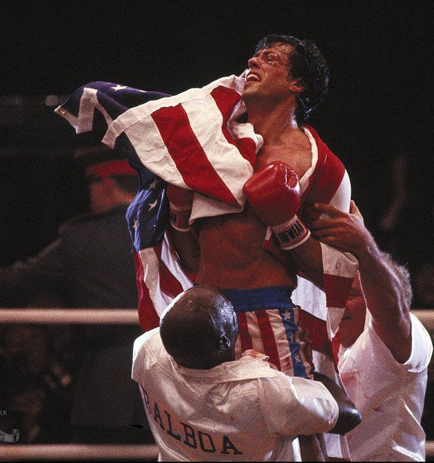 SYLVESTER STALLONE IN ROCKY IV | HOT & FAMOUS | Pinterest