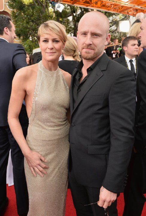 Robin Wright and Ben Foster | Golden Globe Award 2014 ...