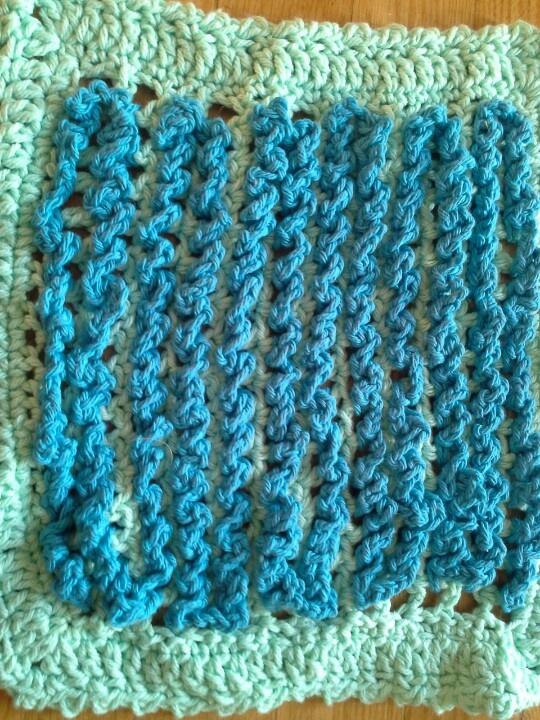 Crocheting In Rows : 100% cotton dishcloth, crochet in rows. My Crochet Pinterest