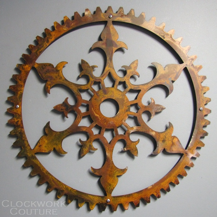 Wall Decor Gears : Viva la steampunk home decor my style