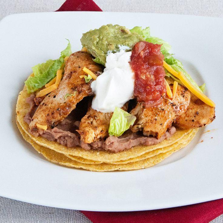Chicken Tostadas | Recipe