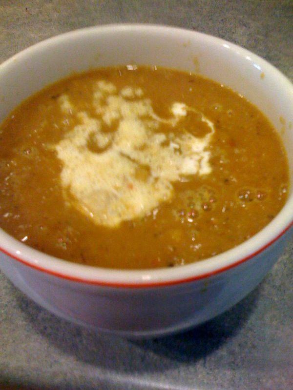 Curried Pumpkin Soup | yum | Pinterest