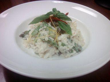 Lemon, asparagus, and crab risotto recipe - Washington DC Food ...