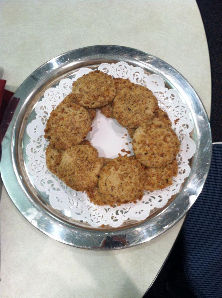 Coffee walnut meltaway cookies | Snacks made by me | Pinterest