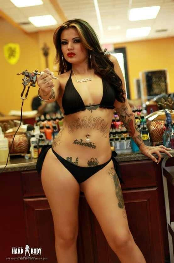 "Tatu Baby The show ""Ink Masters"" When it comes to tattooing...she got ..."