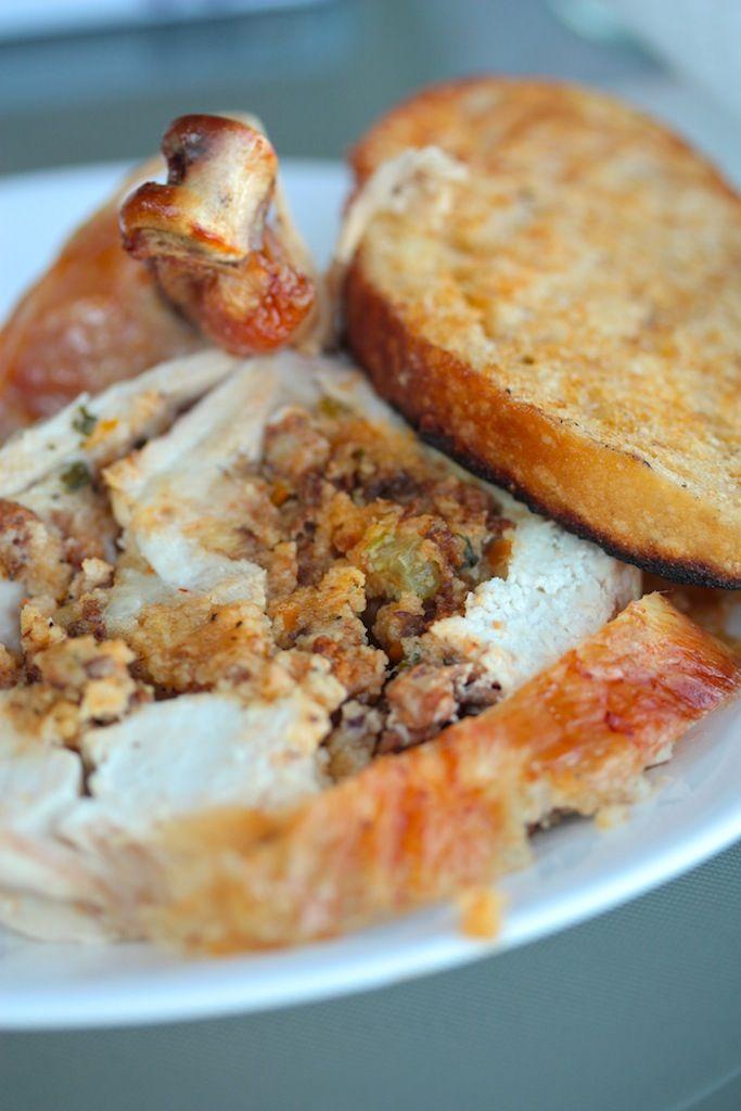 Chorizo and Cornbread Stuffing - www.countrycleaver.com