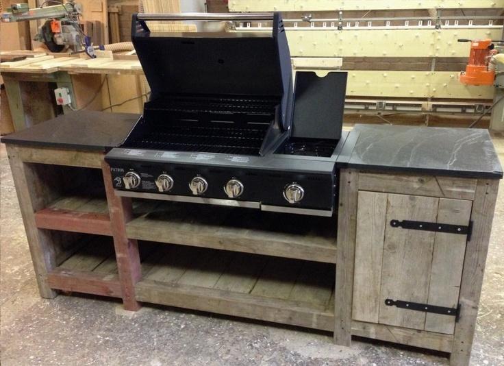 Buitenkeuken Te Koop : barbecue van Patton. Vanaf voorjaar 2013 te koop bij Buitenleven XL