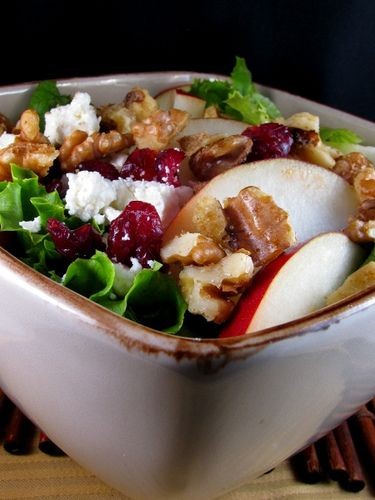 More like this: cranberry salad , feta salad and candied walnuts .