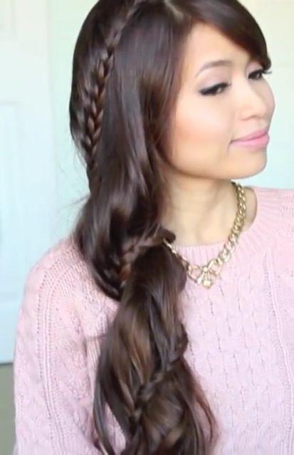 Bebexo spiral lace braid | Hairstyles | Pinterest