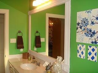 Bathroom Mirror Frame on Framing Out A Bathroom Mirror   My Fabulousness