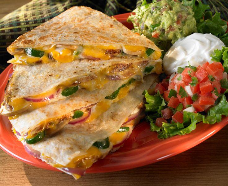 quesadillas with fresh vegetable quesadillas with fresh salsa ...