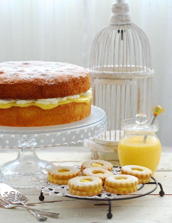 Microwave Lemon Curd, Lemon Victoria Sandwich Cake, Lemon Shortbread ...