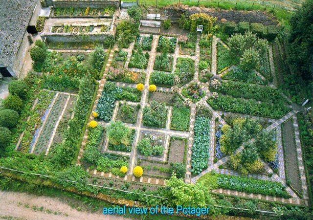 Potager garden layout gardens pinterest for Garden layout