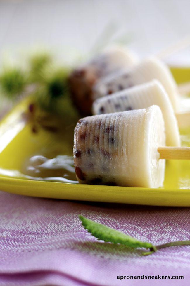 Azuki Red Bean Ice Cream & Ice Pops @Rowena Dumlao Giardina (Apron and ...