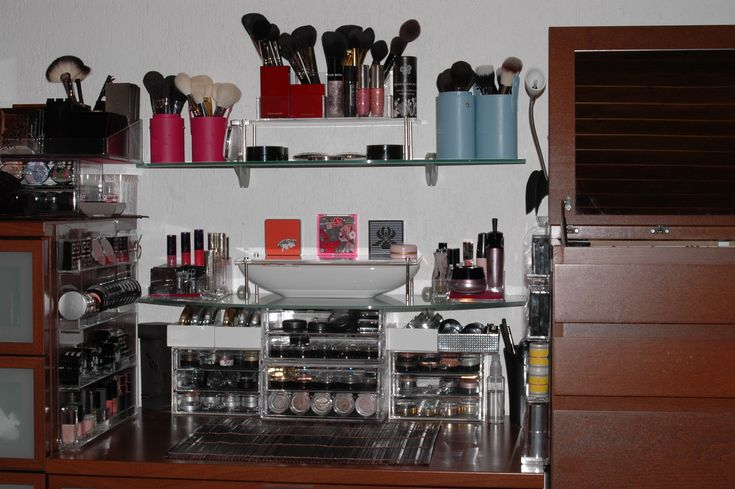 Makeup Organization Vanity Table Idea 39 S Pinterest