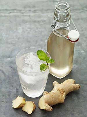 Homemade Ginger Ale | f o o d & d r i n k | Pinterest