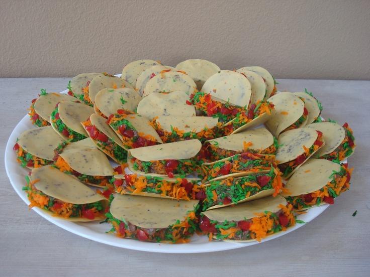 Taco Cupcakes | cupcakes | Pinterest