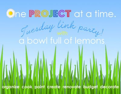 A bowl full of lemons.: One project at a time... Garage organization.