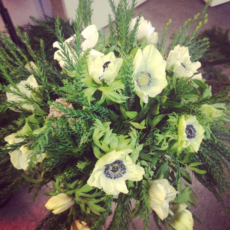 Wedding Bouquet Anemone