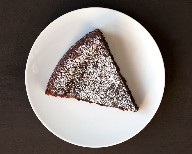 Olive Oil Chocolate Cake @Kate Benson | Ironic Domestic | Pinterest