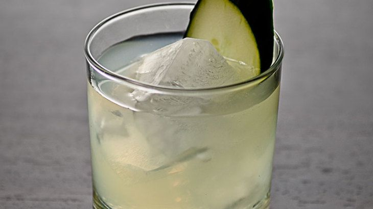 Cucumber, Basil & Lime Gimlet | I'll Drink to That! | Pinterest