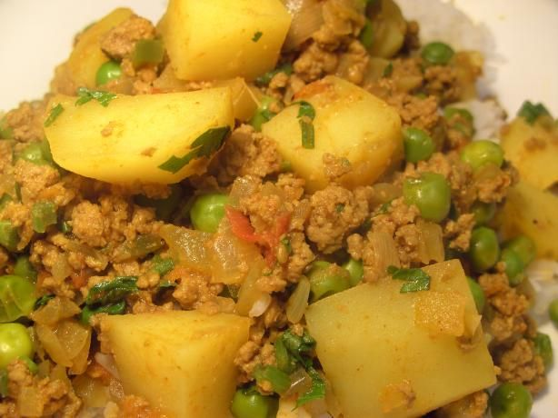 Curried Ground Turkey With Potatoes Recipes — Dishmaps