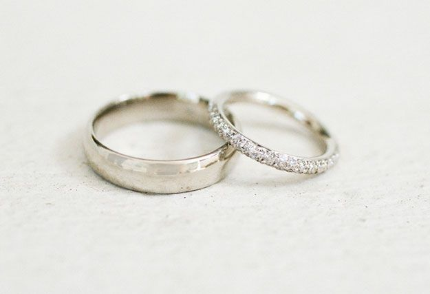 Jewelry Wedding Bands simple I Think I Wanna Marry You