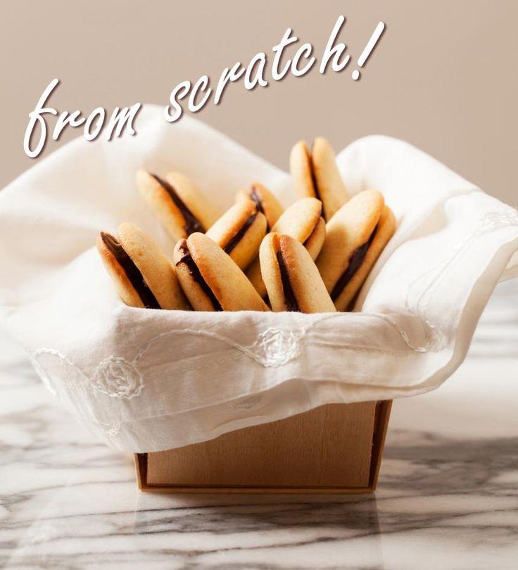 Lara Ferroni's recipe for homemade Orange Milano cookies.