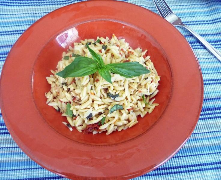Sun-Dried Tomato Basil Orzo | Life Tastes Good