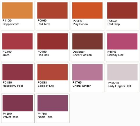 Ici Dulux Paints Shade Card : Plum Colored Walls  Plum Accent Wall  Homie  Pinterest
