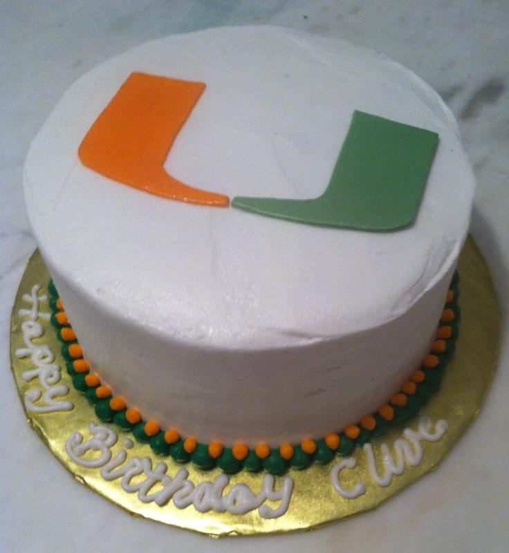 University Of Miami Cake Ideas 95616 University Of Miami B
