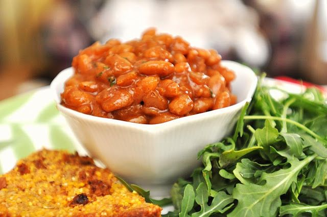 ... mostly vegan, frugal recipes by Melody Polakow : Crock Pot Baked Beans