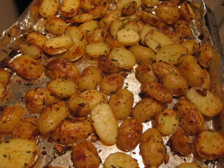 Easy Roasted Potatoes With Garlic Recipes — Dishmaps