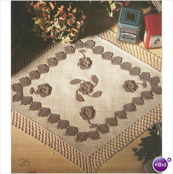 Crochet Doily Pattern Lovely Intermezzo on eBid New Zealand
