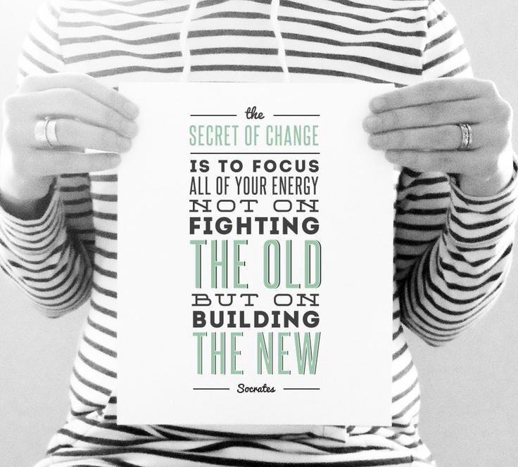 Socrates Quote: Change