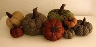 Fabric Pumpkin Patch