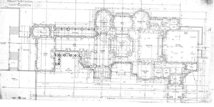 Biltmore House Ground Floor Floor Plan Biltmore Estate