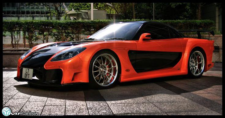 Mazda rx7 Tokyo drift tuning