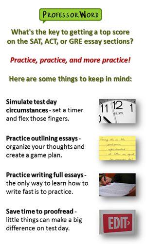 sat essay practice tips