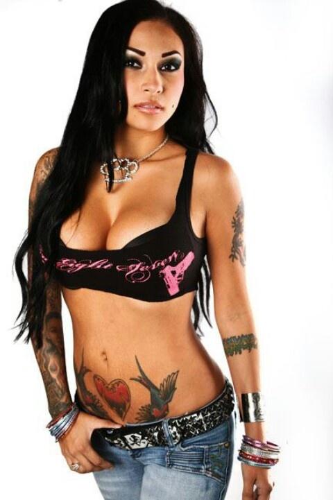 Brittanya Razavi Black Hair