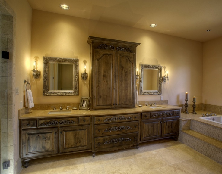 French country bathroom my dream home pinterest for A bathroom in french