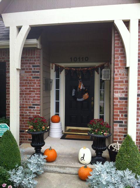 Halloween Front Door Decor  Halloween  Pinterest ~ 135011_Halloween Front Door Decorations