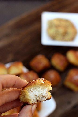 Gluten-free Soft Pretzel Bites (dairy-free with vegan option) by Tasty ...