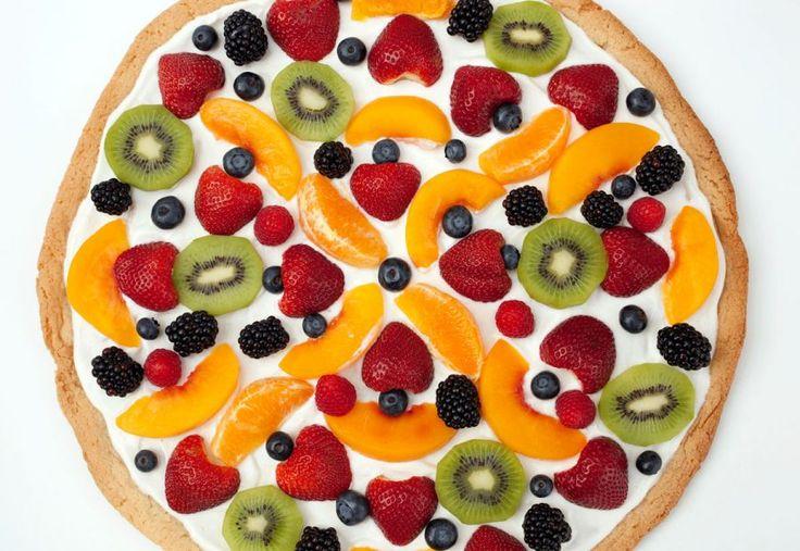 Sugar Cookie Pizzas Recipe — Dishmaps