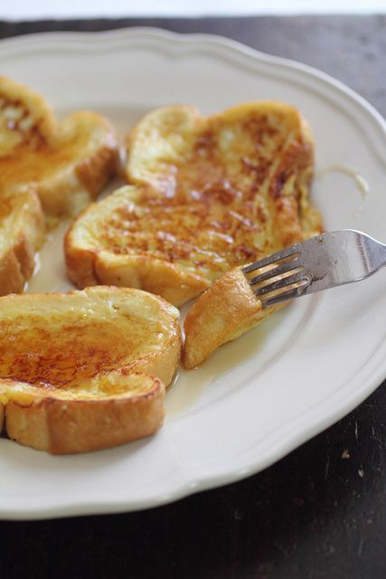 Eggnog French Toast. | Food - Breakfast | Pinterest