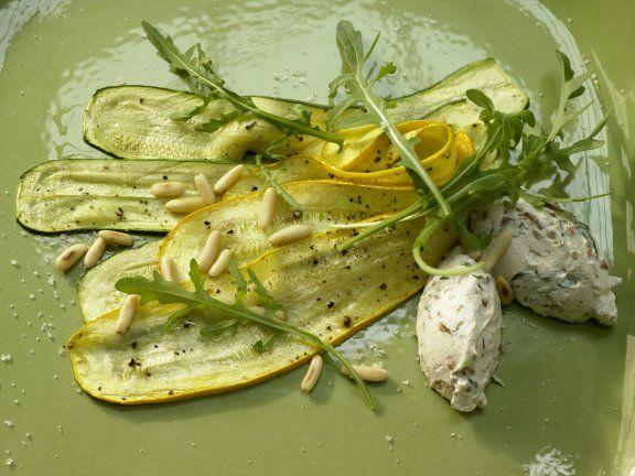 Zucchini-Carpaccio | Recipe