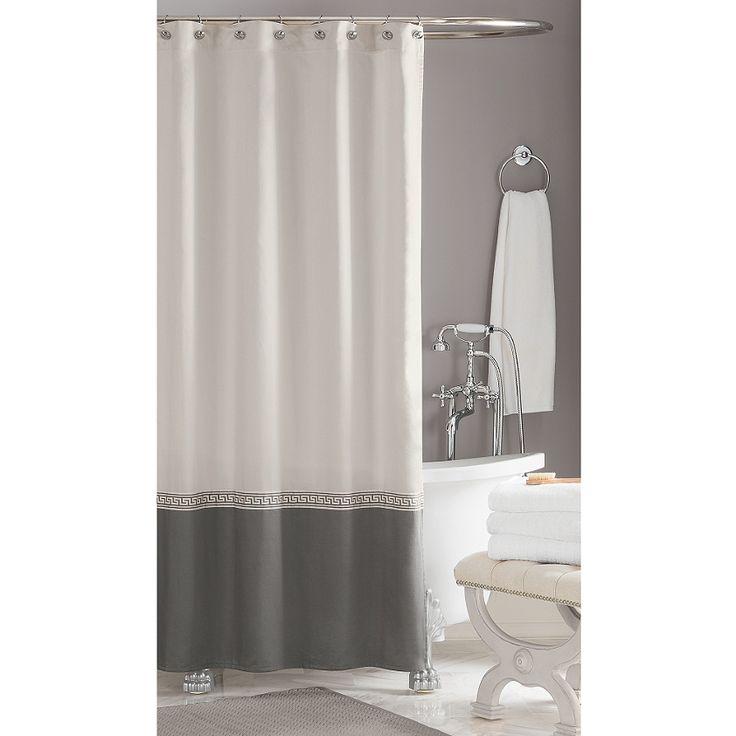 Wamsutta® Greek Key Hotel Shower Curtain (BedBathandBeyond.com) (100% ...