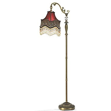 dale tiffany beaded ruby floor lamp this floor lamp from dale. Black Bedroom Furniture Sets. Home Design Ideas