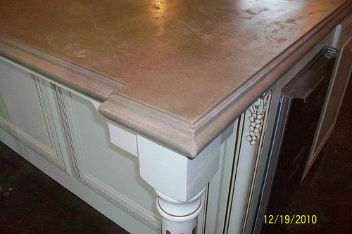 Easy, Cheap, DIY Concrete Countertops -