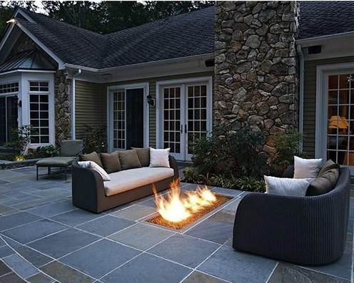Modern Outdoor Fire Pit For The Home Pinterest